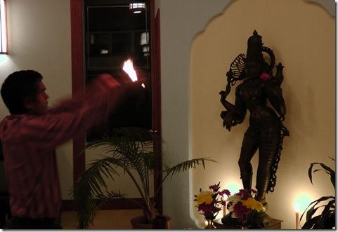 waving ardhanareswara