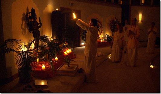 camphor offered to ardhanareswara