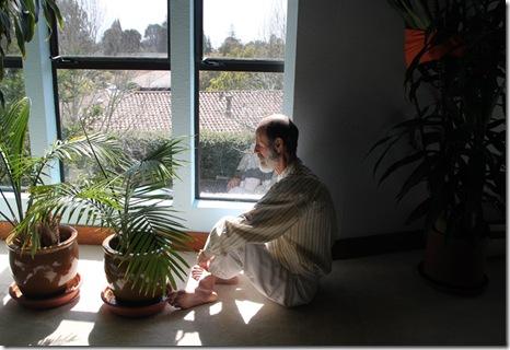 bob meditating