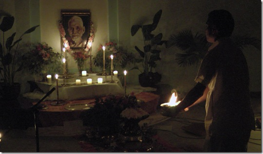 camphor offering