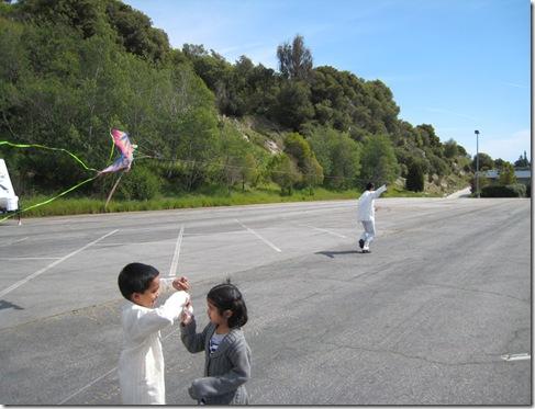 gnana p flying kite