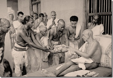 offerings to ramana