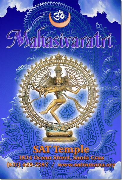 mahasivaratri at the sat temple