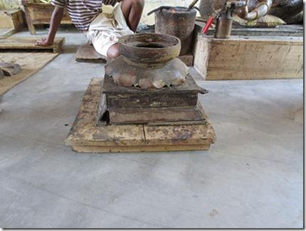 skanda pedestal wax